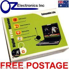 USB HDTV TV tuner DVB-T for Laptop & PC Record digital TV with Antenna & Coax