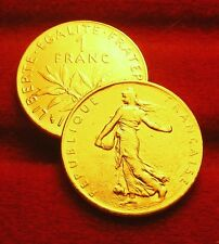 1 FRANC    SEMEUSE    1994   OR/GOLD   PL   RARE   edition limitée