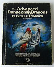 Advanced Dungeons & Dragons Players Handbook TSR 6th Printing 1980 (9th Plus)