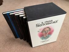 Robert Crumb 6 Volume Sketchbook. Signed and Limited to 1000 Copies