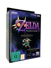 The Legend Of Zelda Majora's Mask 3D Special Edition Nintendo 3DS 🔒 NEW 🔒