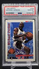1992-93 NBA Hoops Michael Jordan #298 PSA 10 HOF - Bulls, GOAT