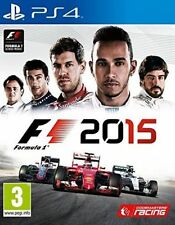 Sony PlayStation 4 Racing Game F1 2015