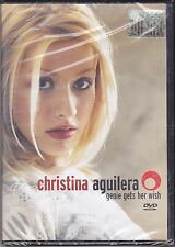 Dvd «CHRISTINA AGUILERA ♪ GENIE GETS HER WISH» nuovo 1998