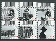 NEW ZEALAND 2010 ANZAC SCENES OF REMEMBRANCE SET 6 UNMOUNTED MINT, MNH