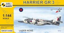 Mark I Models 1/144 Model Kit 14488 BAe Harrier GR.3 'Laser Nose'