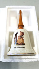 "Nos New Mi Mj Hummel Bells Collection Vintage ""Sing With Me"" Bell with Coa"