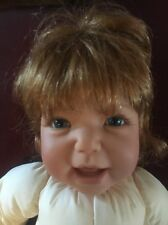 "Lee Middleton 21"" 1997 Reva Doll No Clothes Euc. Blue Eyes  O40786. Signed"