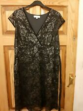 MAMAS & PAPAS BLACK MATERNITY DRESS FOR SPECIAL OCCASION SIZE 10
