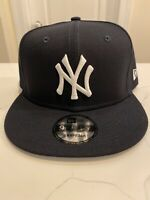 NEW ERA 9FIFTY BASIC SNAPBACK HAT CAP MLB NEW YORK NY YANKEES NAVY BLUE ADULT