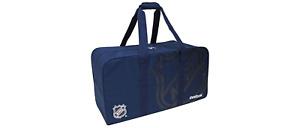 Reebok NHL Hockey Bag! Ice Roller Equipment Carry Non-Wheel Navy Blue JR