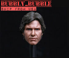 1/6 Custom Han Solo Harrison Ford Head Sculpt For Hot Toys Phicen SHIP FROM USA