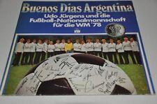 Buenos Dias Argentina - Udo Jürgens WM 78 - Fussball Album Vinyl Schallplatte LP