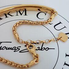 THOMAS SABO ❤ Love Bridge Armband Armkette 19cm Gelb Gold 925 Silber Np239€ NEU❤