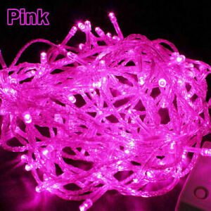 10m 100 LED String Copper Wire Fairy Lights Xmas Party Fairy Decoration Lamp