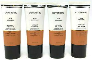 (4) Covergirl Vitalist Go Glow Luminizing Lotion 1.0 fl oz EACH 2 - Sunkissed