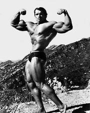 Bodybuilder, Actor ARNOLD SCHWARZENEGGER 8x10 Photo Celebrity Print Poster