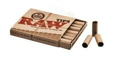 Raw Natural Pre-Rolled Rolling Paper Filter Tips - Lot of 5 Boxes