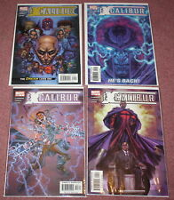 EXCALIBUR COMIC BOOK, 2004, ISSUES 1-4