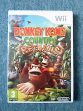 Nintendo Wii DONKEY KONG COUNTRY RETURNS Video Game