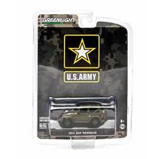 """Greenlight  Hobby Exclusive: 2014 Jeep Wrangler """"US Army"""" 1/64 Scale"""