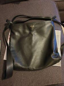 Vestirsi Bella Backpack Convertible Leather Black Handbag