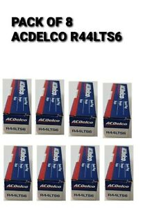 * SET OF 8 * ACDelco R44LTS6 Spark Plugs CONVENTIONAL AC DELCO