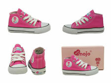 Chaussures roses en toile pour fille de 2 à 16 ans, pointure 28