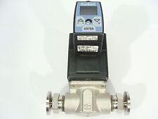 "Burkert 2875 FKM Solenoid Control Valve S/S 1/2"" NPT + 8605 Digital Controller!"