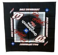 "Dale Earnhardt Nascar RCR #3 21"" X 21"" Screen Printed GM Goodwrench Bandana"