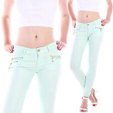 Markenlose Damen-Jeans in Langgröße