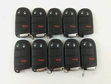 LOT OF 10 JEEP GRAND CHEROKEE 14-16 SMART KEY LESS ENTRY REMOTE 3-BUTTON OEM FOB