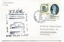 1979 USCGC Polar Sea WAGB-11 Byrd Flight Icebreaker Antarctic Cover SIGNED