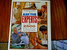 Ask the Experts 2500 Great Hints and Smart Tips from Pros Reader's Digest NEW