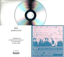 TOY Spellbound E.P. 2017 UK 4-trk promo test CD