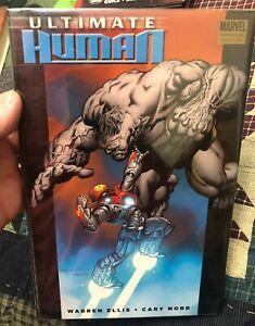 Marvel Premiere Edition - Ultimate Human Hardback Hulk & Ironman - Ellis &  Nord