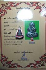 OLD GENUINE THAI AMULET BUDDHA SOUTHEAST ANTIQUE PHRA  PIDTA LP EIAM