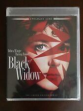 BLACK WIDOW (Blu-Ray) Twilight Time Ltd. Ed of 3,000, Cult, Thriller - BRAND NEW