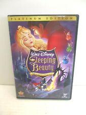 Disney's Sleeping Beauty (DVD, 2008, 2-Disc Set, Platinum Edition) Moderate Wear