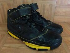 RARE🔥 Nike Zoom Kobe II Carpe Diem Black Maize Sz 11 316022-001 Lakers Away LE