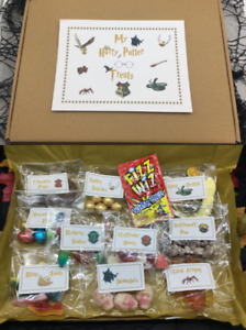 Harry Potter Inspired Treat Box full of Novelty Sweets & Chocolate