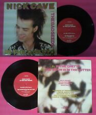 LP 45 7'' NICK CAVE feat THE BAD SEEDS In the ghetto Moon is gutter no cd mc dvd