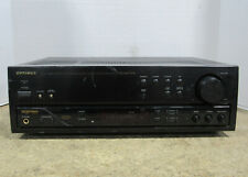 Optimus Stav-3560 Digital Synthesized Audio/Video A/V Stereo Receiver 60W/Chan.