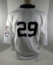 2009 Pittsburgh Pirates Tony Beasley #29 Game Issued White Jersey 1909 PBC 32811