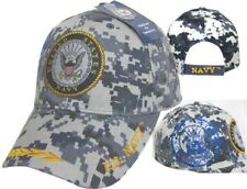 U.S. Navy Shadow Emblem Digital Camouflage USN Embroidered Cap CAP602BC Hat