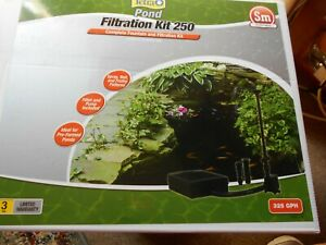 Tetra Pond Filtration Fountain Kit 250 Sm 75-250 Gallons