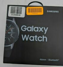 Open Box Samsung Galaxy Watch Smartwatch 46mm SM-R800NZSAXAR -DT0565