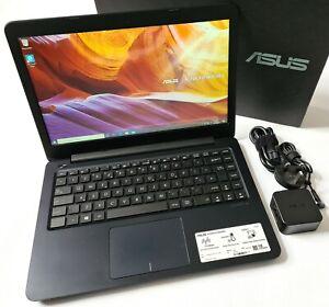 "ASUS VivoBook E402YA-GA002TS 14"" AMD E2 4GB RAM 64GB eMMC Windows 10 Dark Blue"