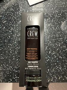 American Crew Shampoo And Forming Cream