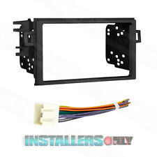 Double Din Radio Install Dash Kit & Wires for Accord, Car Stereo Mount 95-7895